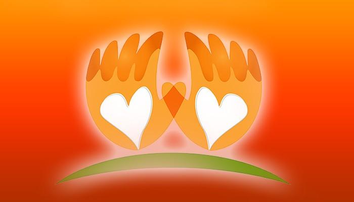 40669692 - hands love vector icon logo