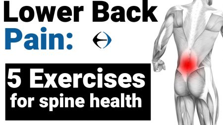 5 exercise for spine health - youtube thumbnail