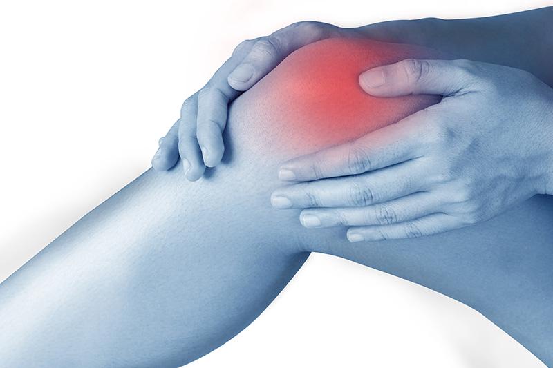 knee inflammed